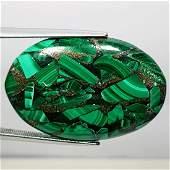 3590 ct Natural Copper Malachite