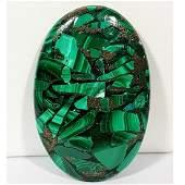 6625 ct Natural Copper Malachite