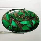 3890 ct Natural Copper Malachite