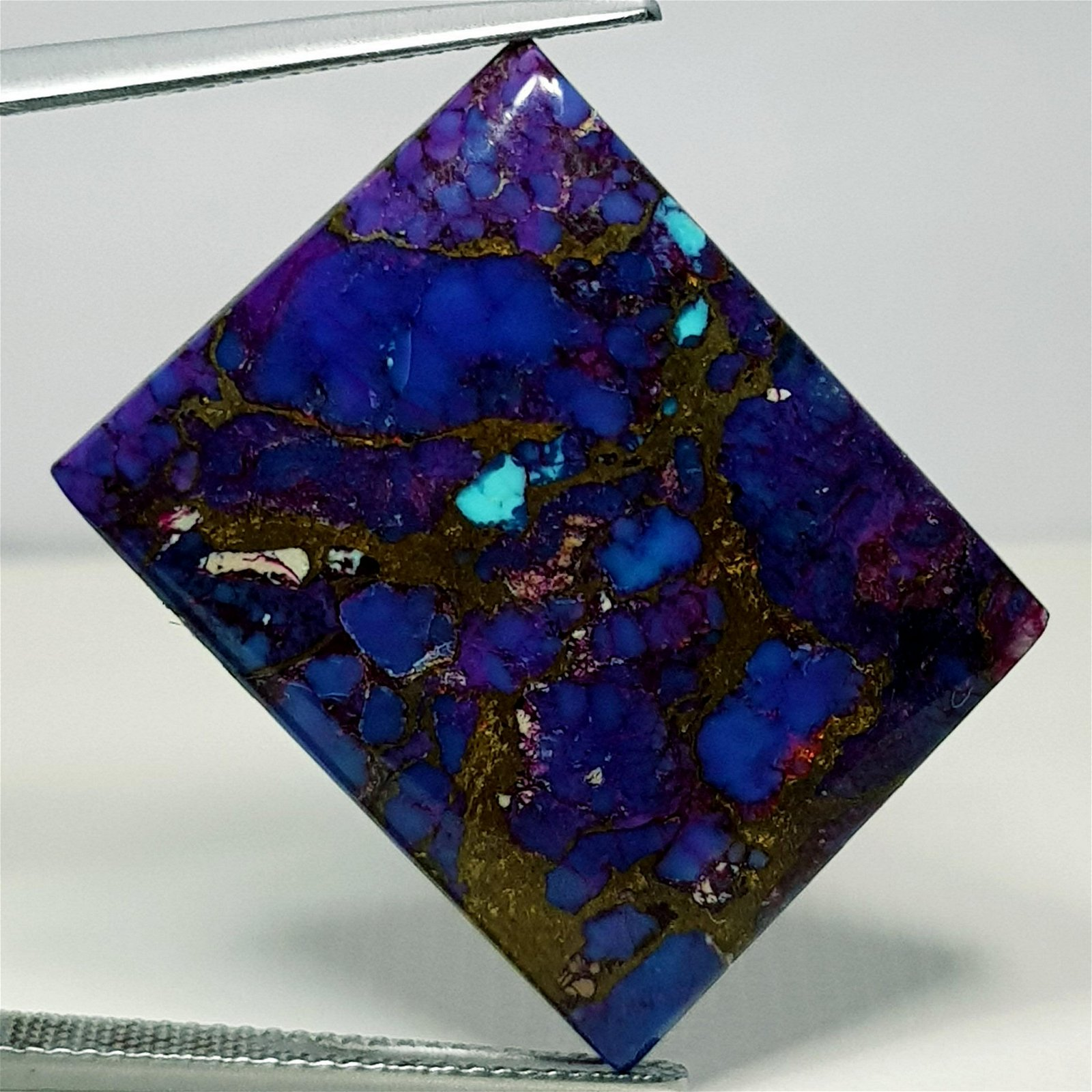 28.45 ct Natural Violet Mohave Turquoise