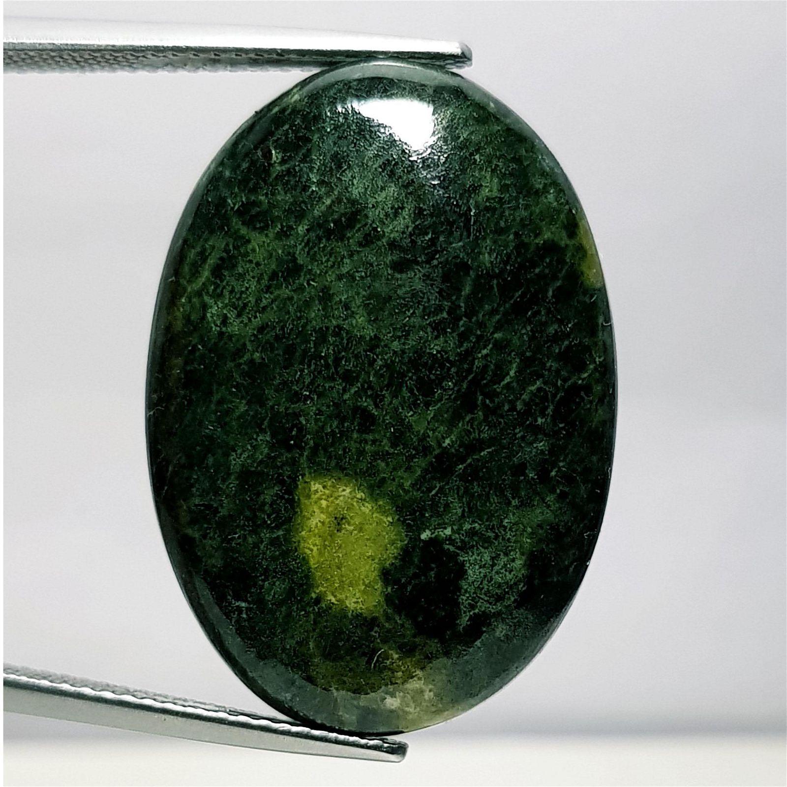 34.05 ct Natural Green Jasper