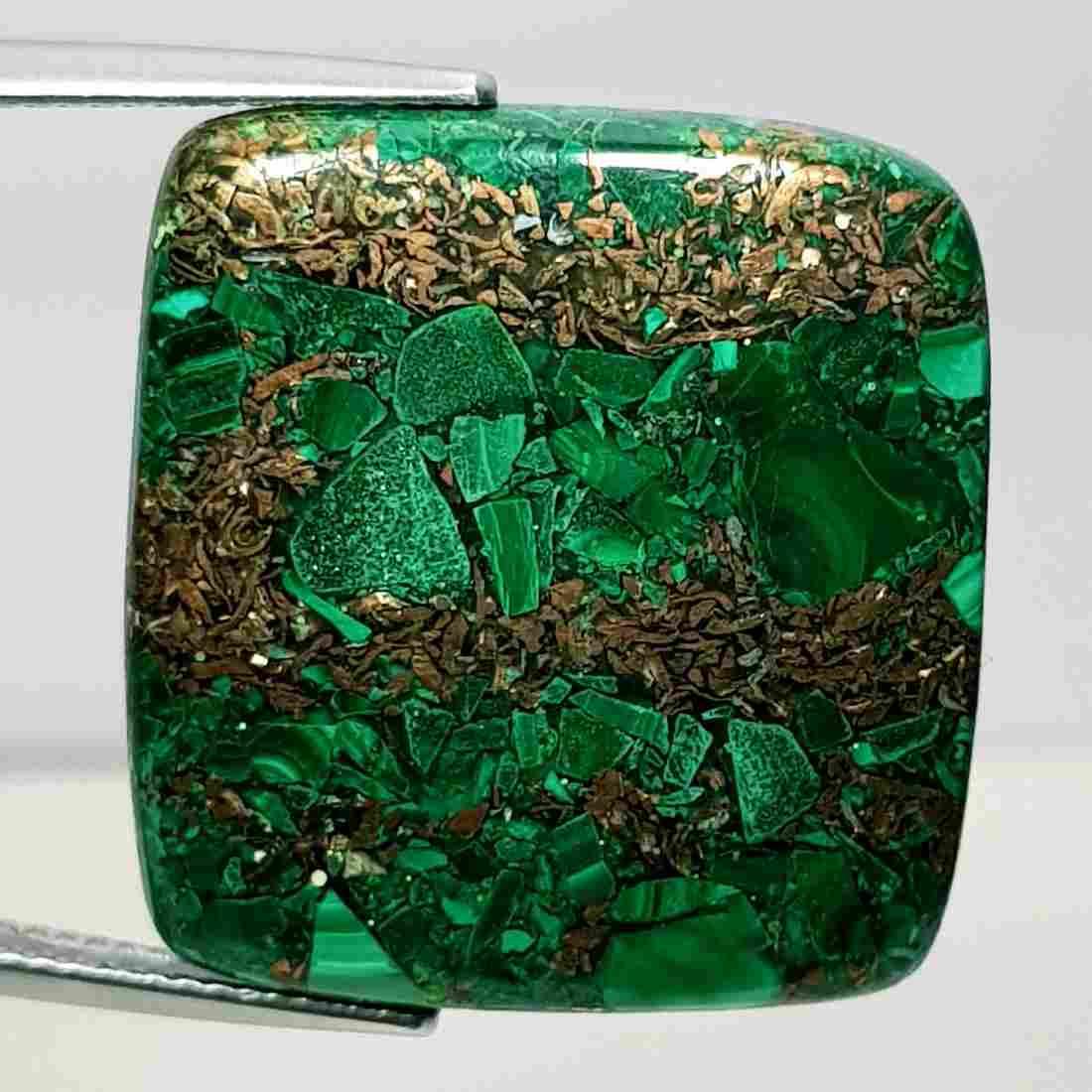 31.70 ct Natural Copper Malachite
