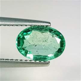 "1.26 ct ""IGI CERTIFIED"" Natural Emerald"