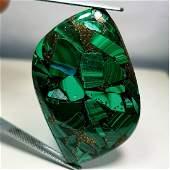 3813 ct Natural Copper Malachite