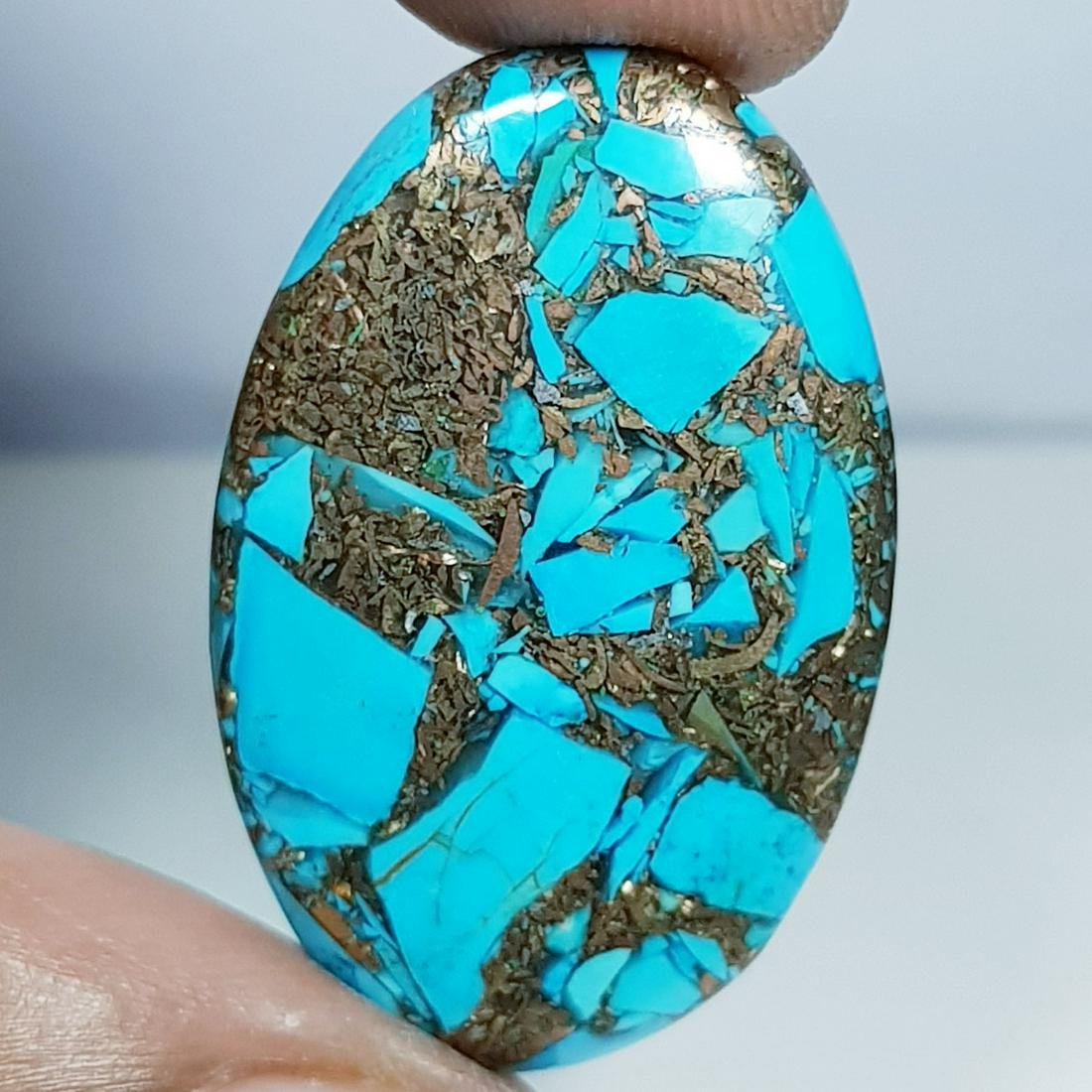28.90 ct Natural Copper Turquoise