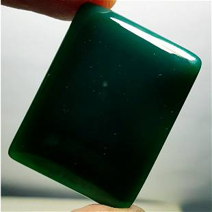 5165 ct Natural Green Agate
