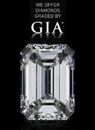 0.50 CT - G / VS2 / GIA Certified Emerald Cut Diamond