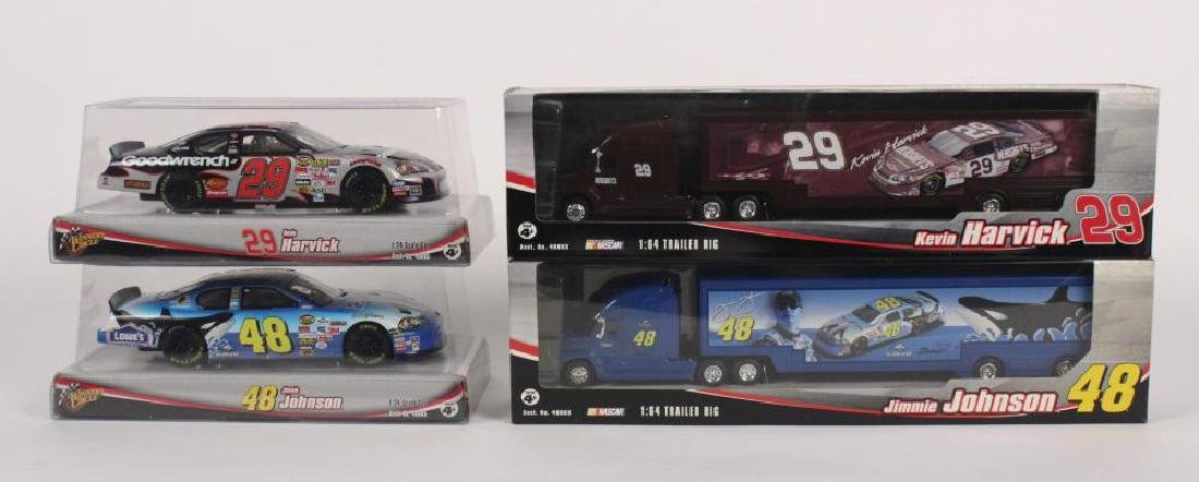 Kevin Harvick & Jimmie Johnson Nascar Collectibles