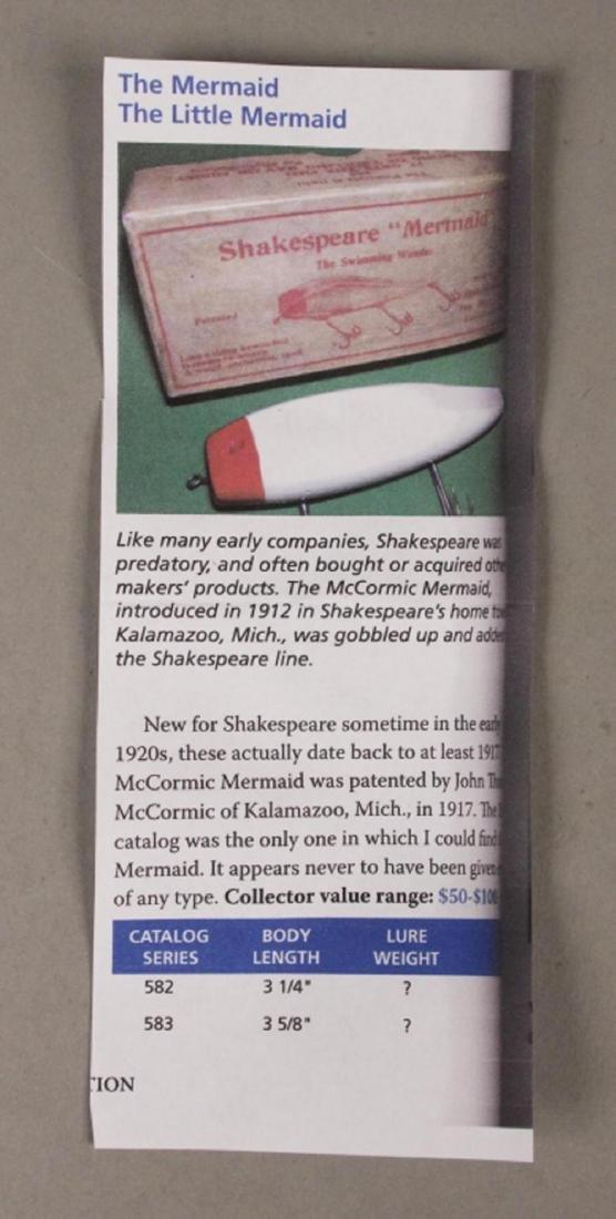Vintage Shakespeare Mermaid Fishing Lure - 4