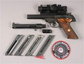 Hi - Standard Supermatic 22 L.R. Pistol with Scope