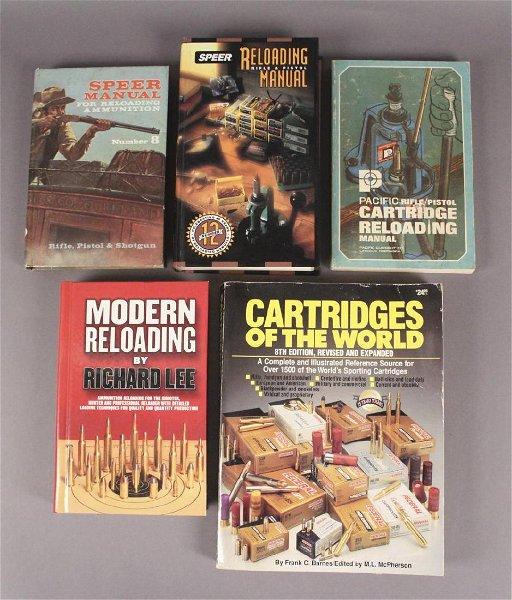 5 Gun Reloading Books & Manuals