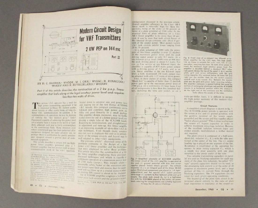 1960's Amateur Radio Magazines - Nice Collection - 9