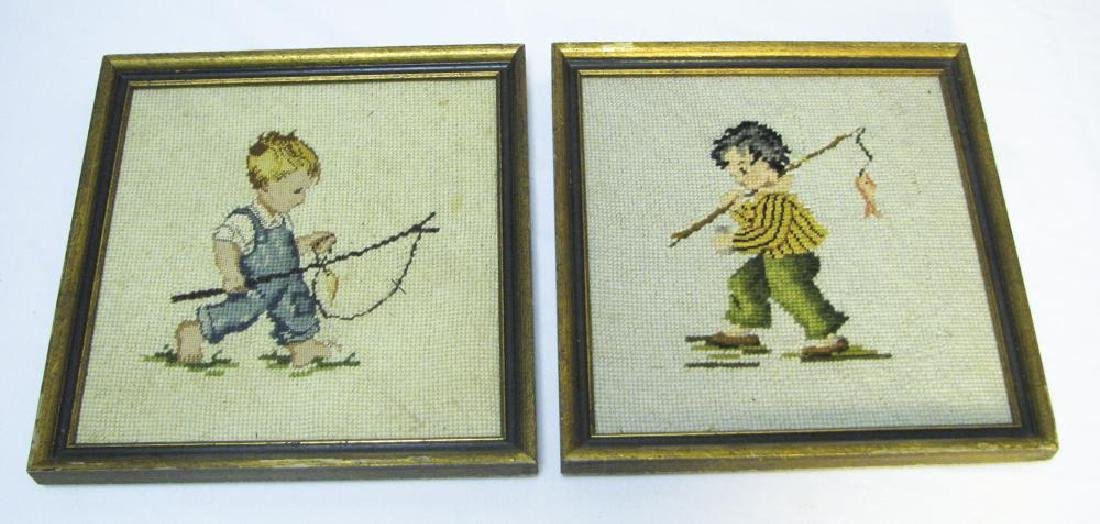 9 Fishing & Hunting Collectible Pictures - 2