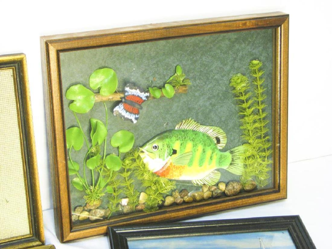 9 Fishing & Hunting Collectible Pictures - 4