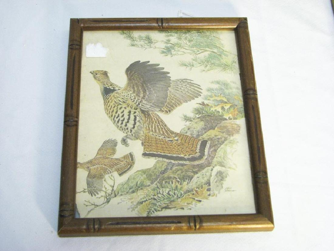 9 Fishing & Hunting Collectible Pictures - 7