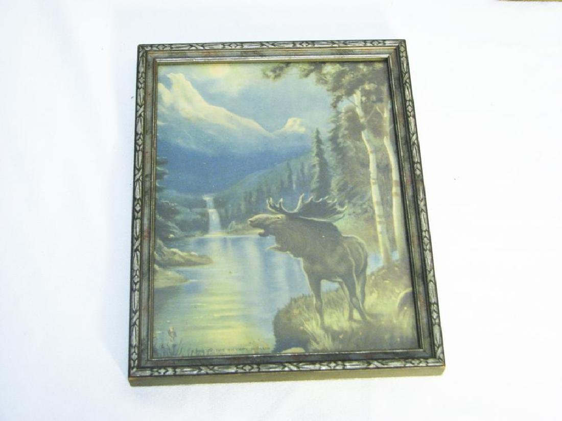 9 Fishing & Hunting Collectible Pictures - 8