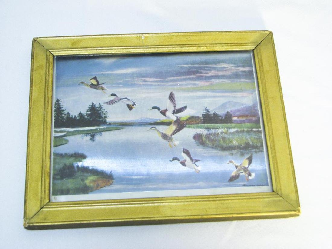 9 Fishing & Hunting Collectible Pictures - 9