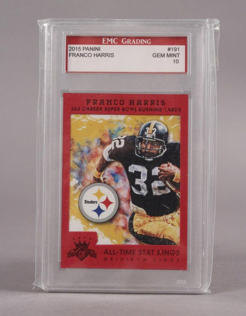 2015 Franco Harris Pittsburgh Steelers Card