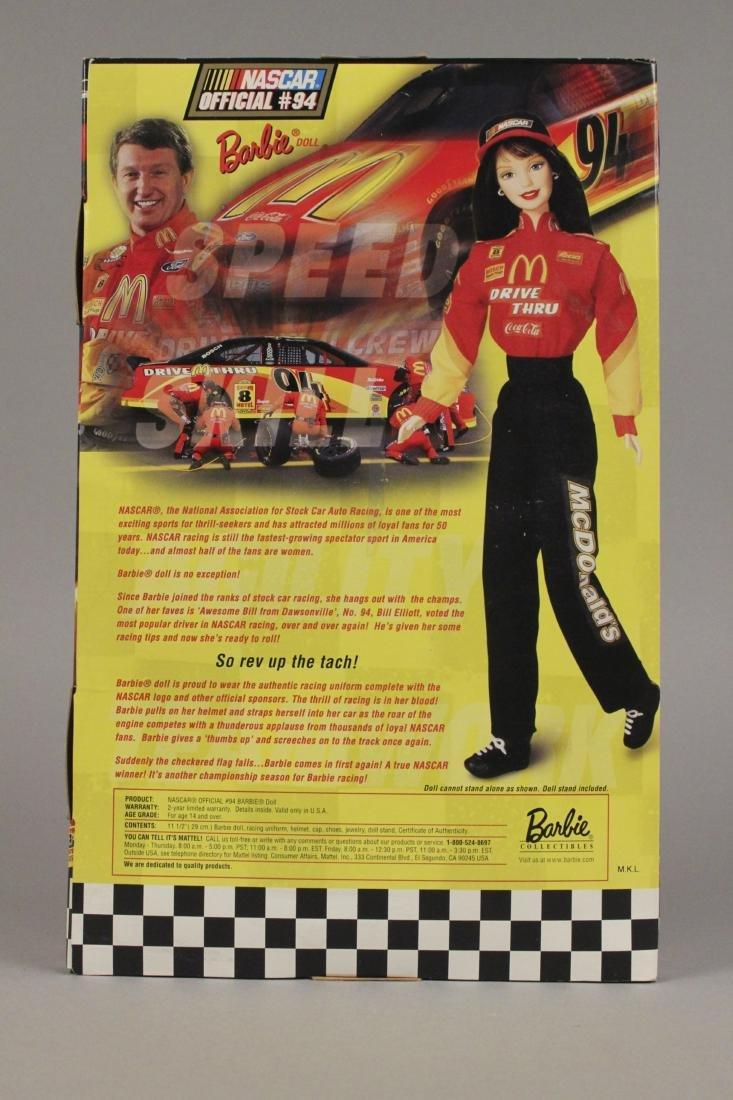1999 McDonald Nascar Barbie Collectors Edition - 5