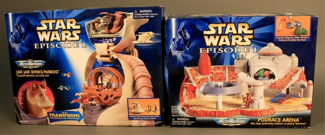 2 - 1998 Star Wars Episode 1 Micro Machine