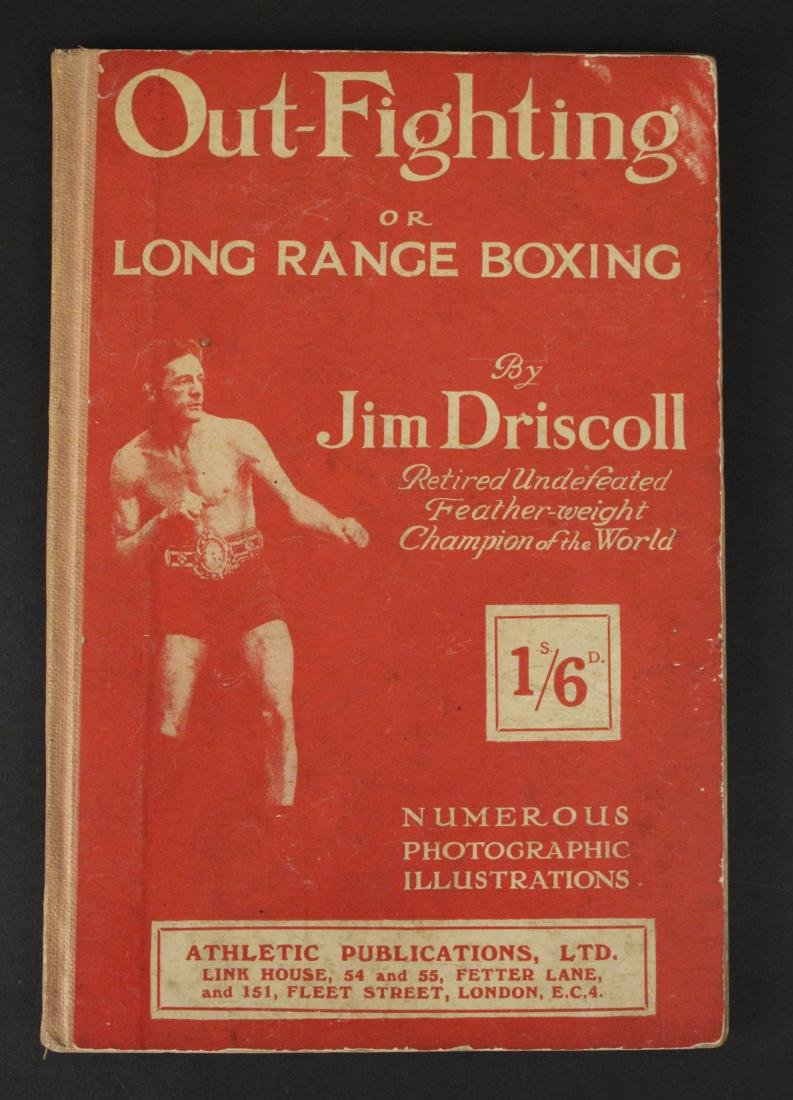 """Out Fighting"" Boxing Book by Jim Driscoll - Cool!"