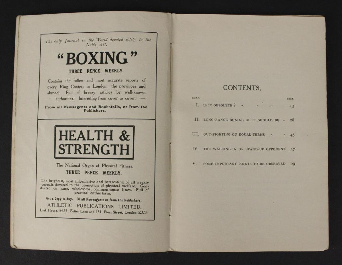 """Out Fighting"" Boxing Book by Jim Driscoll - Cool! - 3"