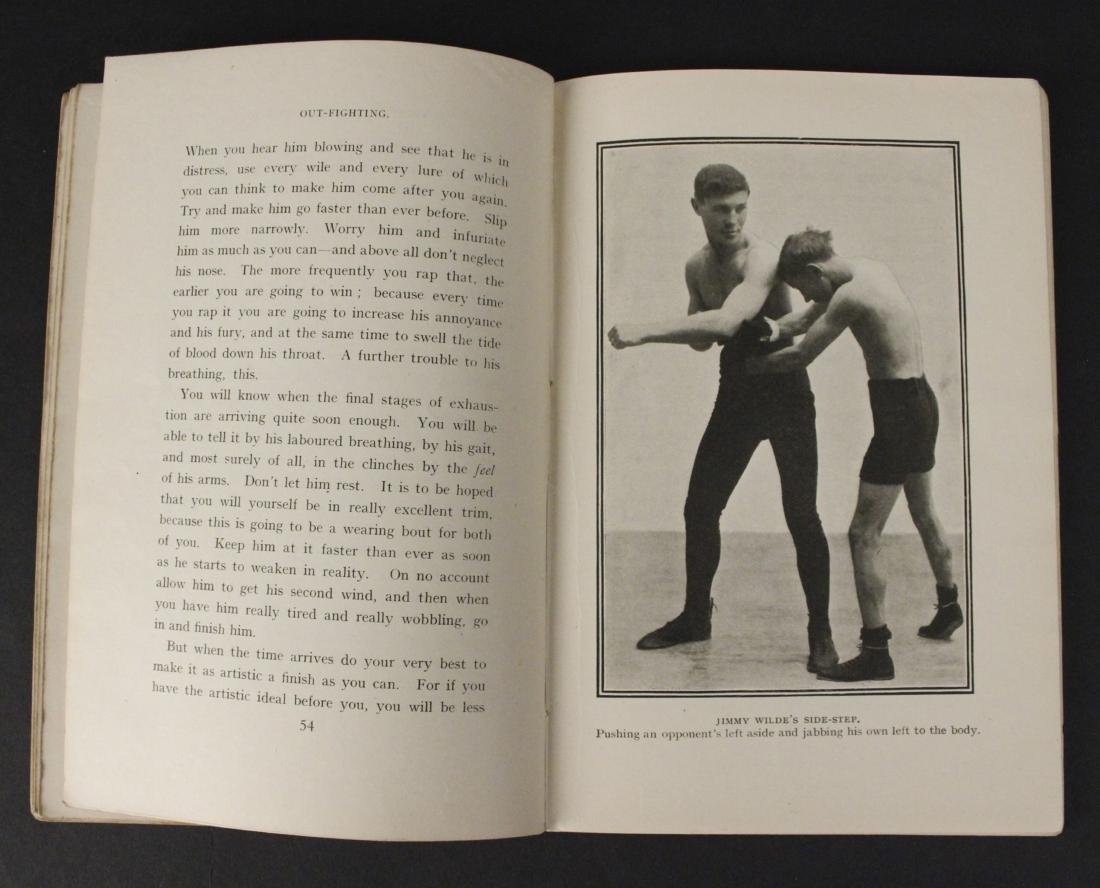 """Out Fighting"" Boxing Book by Jim Driscoll - Cool! - 5"