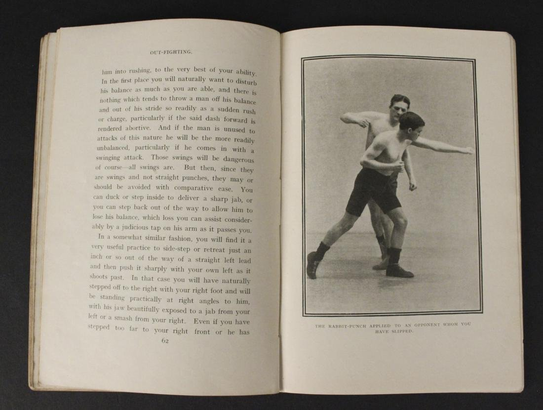 """Out Fighting"" Boxing Book by Jim Driscoll - Cool! - 6"