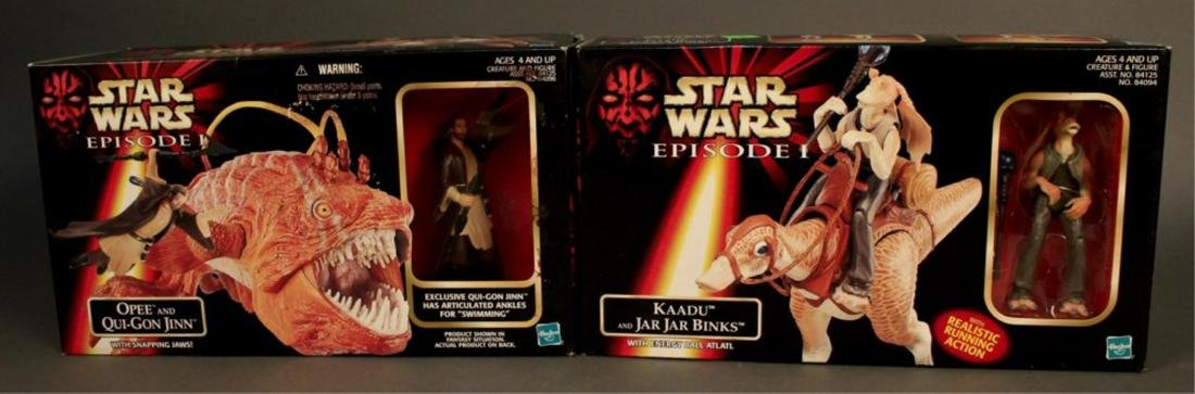 2 Star Wars Episode 1 Action Figure Sets