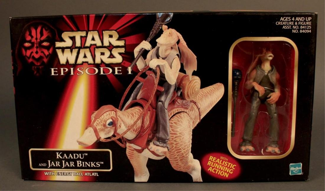 2 Star Wars Episode 1 Action Figure Sets - 7