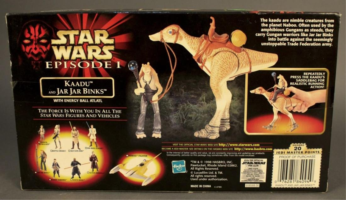 2 Star Wars Episode 1 Action Figure Sets - 8