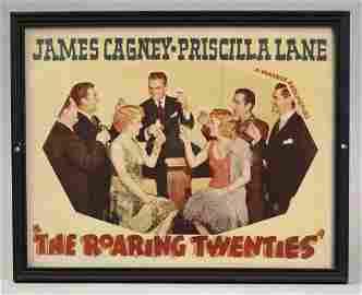 1939 The Roaring Twenties Framed Movie Poster