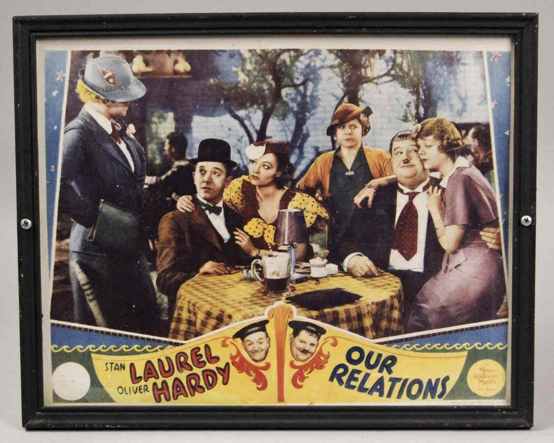1936 Our Relations Movie Posters - Laurel & Hardy