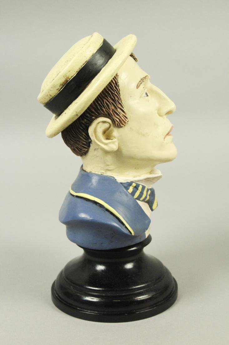 Buster Keaton Resin Bust - 2