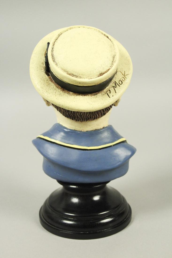 Buster Keaton Resin Bust - 3