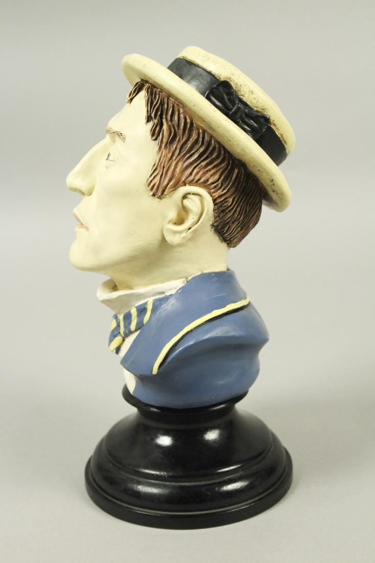 Buster Keaton Resin Bust - 4