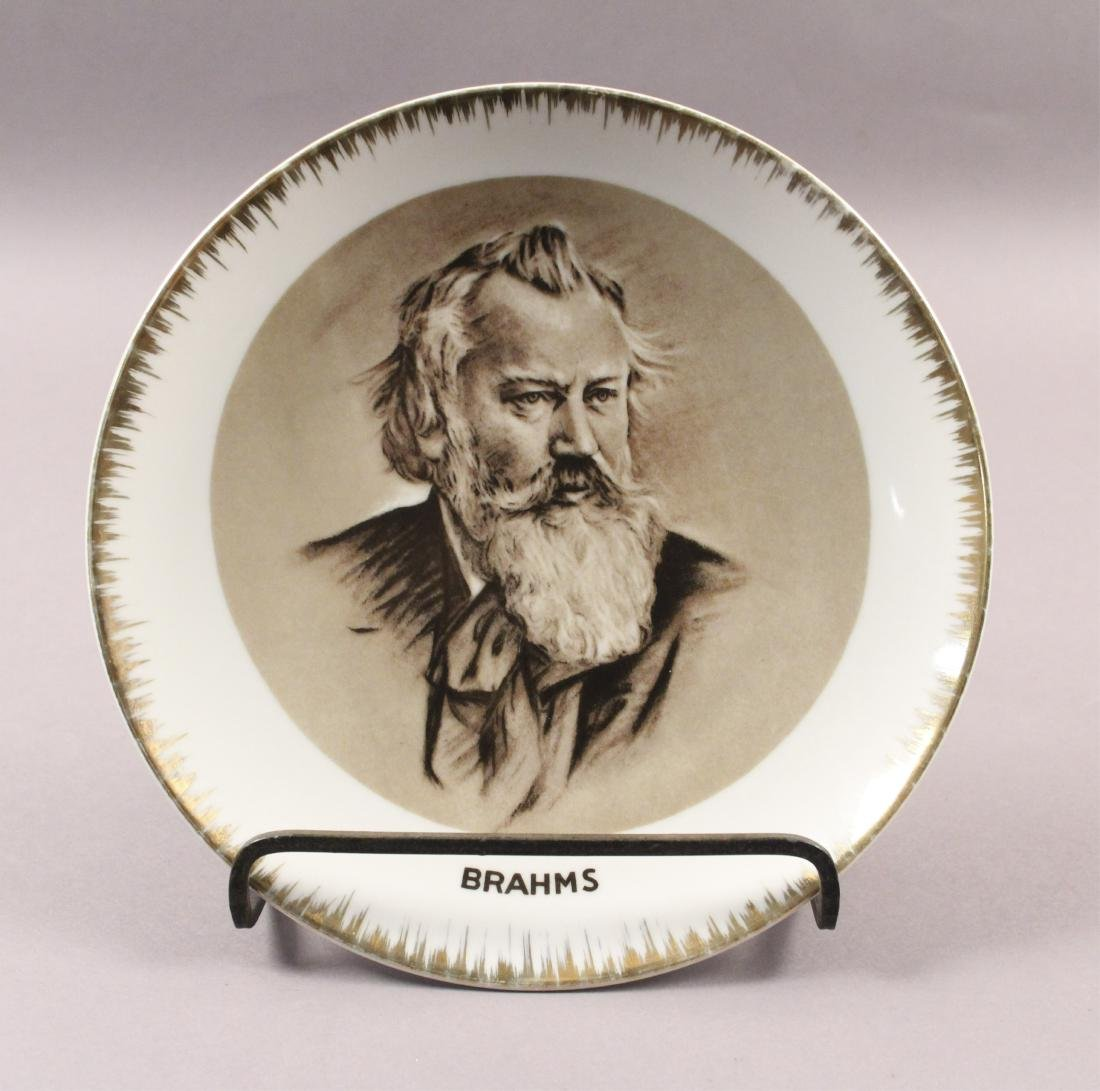 Collectible Plates - Will Rogers - Mozart - Brahms - 4