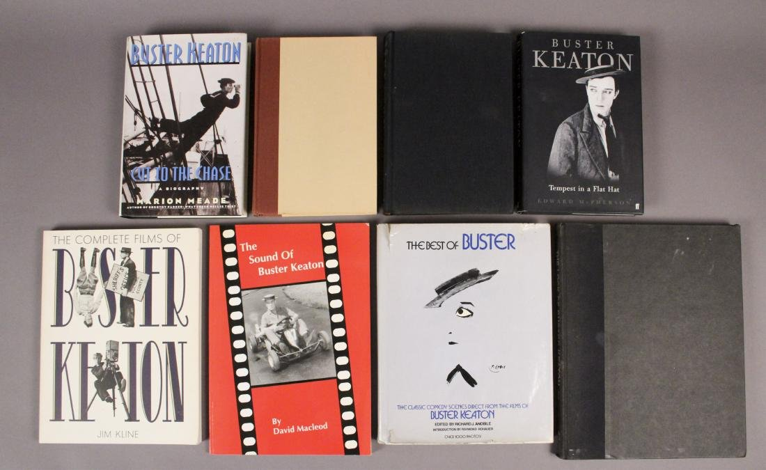 10 Silent Film Star Buster Keaton Books