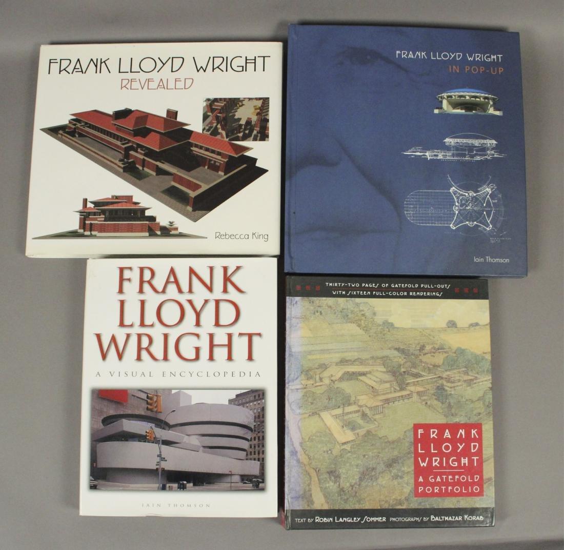 4 Frank Lloyd Wright Architecture Books