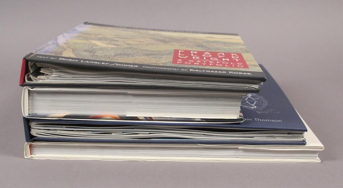 4 Frank Lloyd Wright Architecture Books - 2