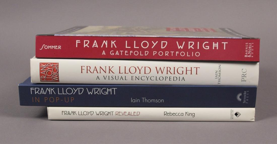 4 Frank Lloyd Wright Architecture Books - 3