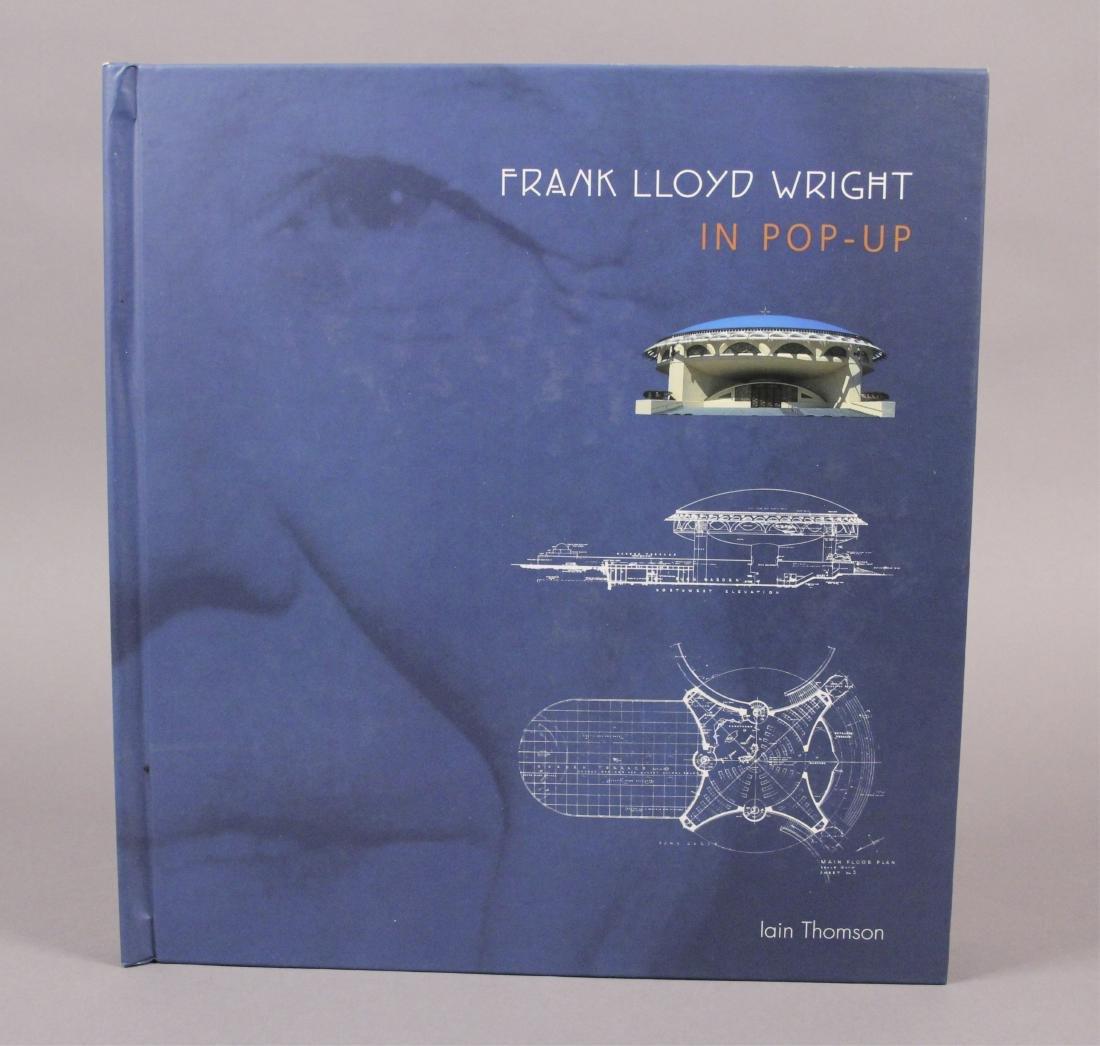 4 Frank Lloyd Wright Architecture Books - 4