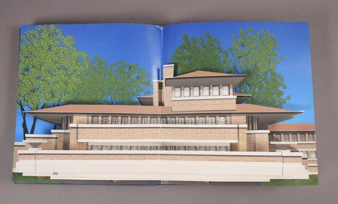 4 Frank Lloyd Wright Architecture Books - 5