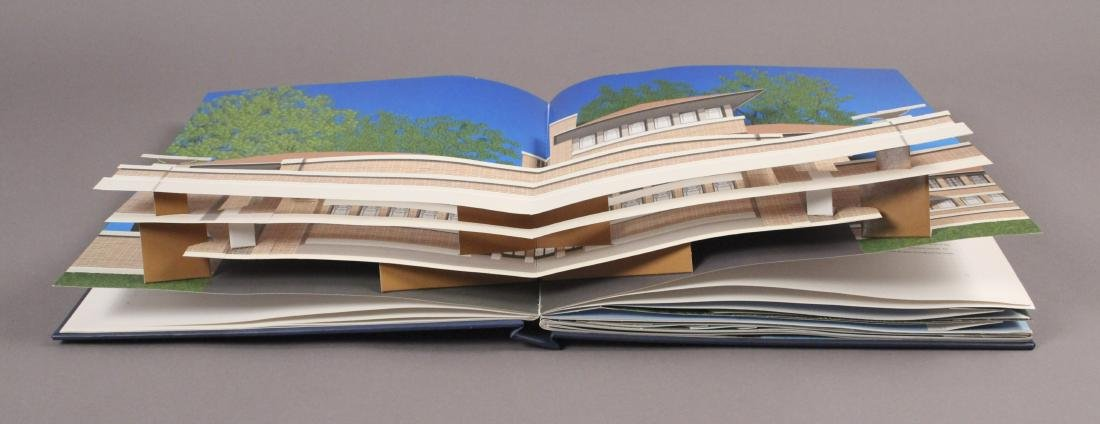 4 Frank Lloyd Wright Architecture Books - 6