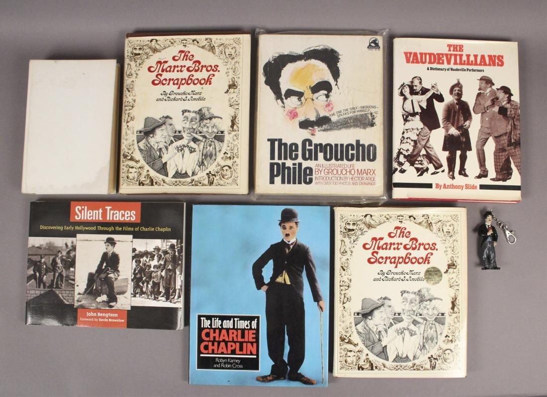 7 Charlie Chaplan & Marx Bros Books