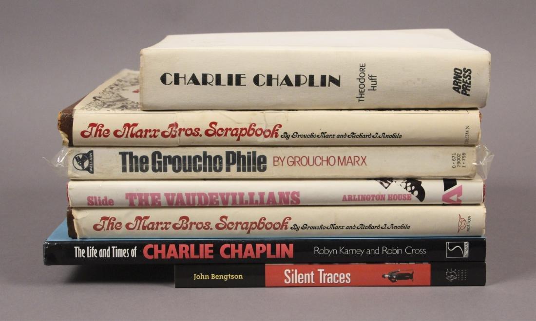 7 Charlie Chaplan & Marx Bros Books - 3