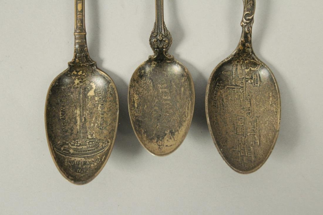 Collectible Souvenir Spoons - 3