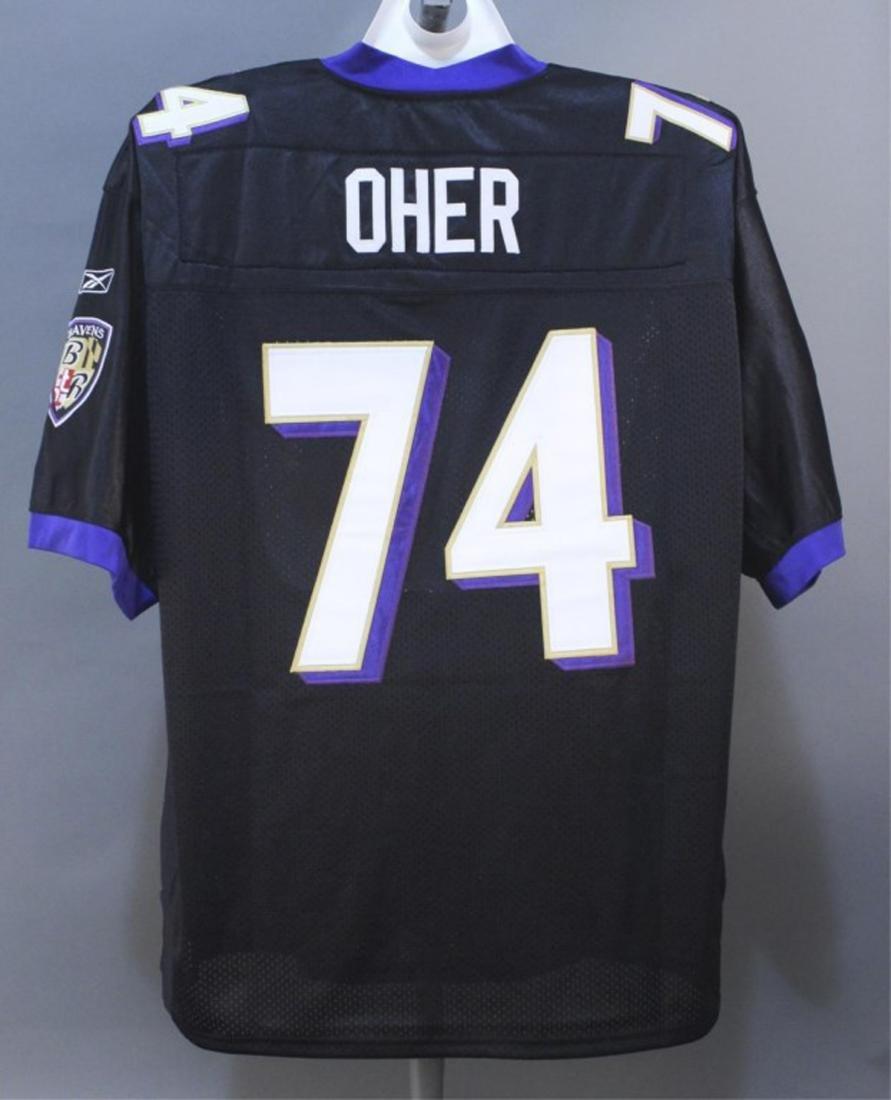 Michael Oher #74 Baltimore Ravens NFL Jersey