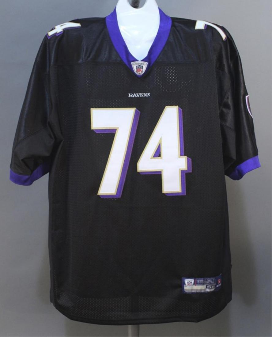 Michael Oher #74 Baltimore Ravens NFL Jersey - 2