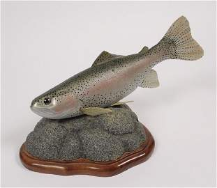 Rainbow Trout Statue